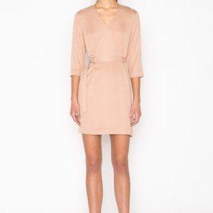 Oak Fort Belted Mid Sleeve Dress